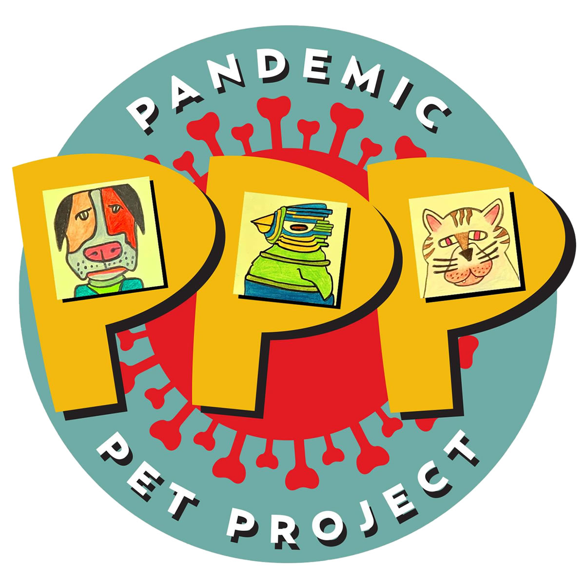 Pandemic Pet Project Logo by Ed Attanasio